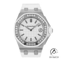 Audemars Piguet Royal Oak Offshore Lady Steel 37mm White No numerals