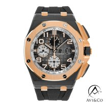 Audemars Piguet Royal Oak Offshore Chronograph Ceramic 44mm Black Arabic numerals