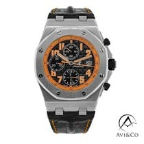 Audemars Piguet Royal Oak Offshore Chronograph Volcano Acier 42mm Noir Arabes