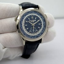 Patek Philippe World Time Chronograph White gold 39.5mm Blue No numerals United States of America, Florida, Orlando
