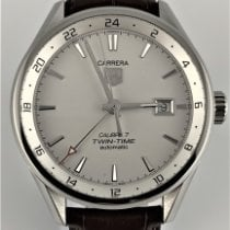 TAG Heuer Carrera Calibre 7 Steel 41mm Silver United States of America, Utah, West Jordan