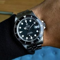 Tudor Submariner Steel 36mm Black No numerals United States of America, South Carolina, Greenville