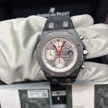 Audemars Piguet Carbon Automatic Grey 42mm pre-owned Royal Oak Offshore Chronograph