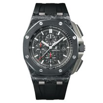 Audemars Piguet Royal Oak Offshore Chronograph Углерод 44mm Черный Без цифр