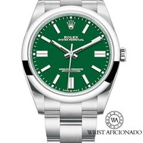 Rolex Oyster Perpetual Steel 41mm Green No numerals United States of America, New York, New York
