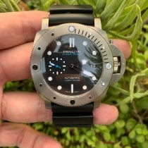 Panerai Luminor Submersible 1950 3 Days Automatic Titanium 47mm Black No numerals United States of America, California, Los Angeles