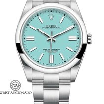 Rolex Oyster Perpetual 36 Steel 36mm Blue No numerals United States of America, New York, New York