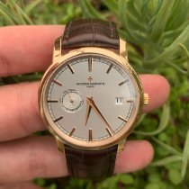 Vacheron Constantin Patrimony Rose gold 38mm Silver No numerals United States of America, California, Los Angeles