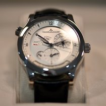Jaeger-LeCoultre Master Geographic Steel 40mm Silver Arabic numerals United States of America, Florida, Miami