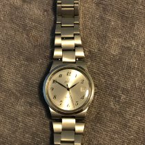 Omega Genève Steel 36mm Silver Arabic numerals United States of America, California, Pacheco