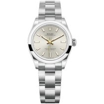 Rolex Oyster Perpetual 31 Steel 31mm Silver No numerals United States of America, New York, New York