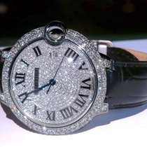 Cartier Ballon Bleu 42mm Steel 42mm White Roman numerals United States of America, California, 91789