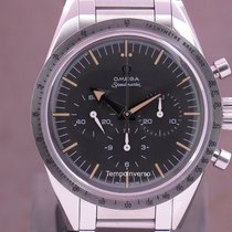 Omega Speedmaster Steel 38.6mm Black No numerals United Kingdom, London Paris & Brussels face to face delivery only - Other destination shipping express with insurance
