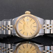 Rolex Prince Aur/Otel 25mm Auriu Fara cifre