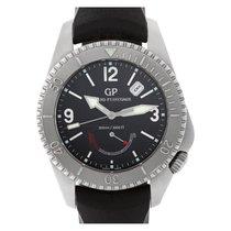 Girard Perregaux Sea Hawk Steel 42mm Black No numerals