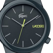 Lacoste Plast Quartz Zelená 41mm nové