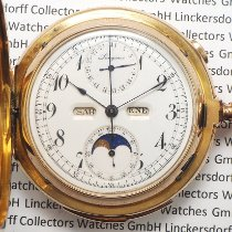 Longines Watch pre-owned 1890 Yellow gold Manual winding Watch only