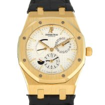 Audemars Piguet Royal Oak Dual Time Yellow gold 39mm Silver United States of America, Pennsylvania, Southampton