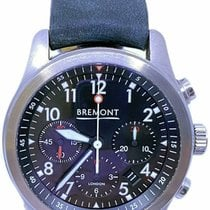 Bremont ALT1-P Pilot Steel 43mm Black No numerals