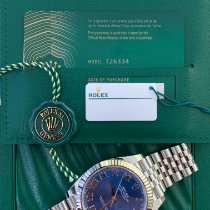 Rolex Datejust Gold/Steel 41mm Blue Roman numerals United Kingdom, Carlisle