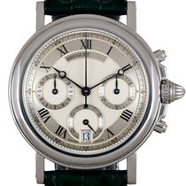 Breguet Marine Platinum 35.5mm Silver Roman numerals United Kingdom, London