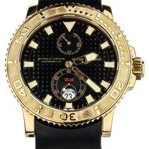 Ulysse Nardin Maxi Marine Diver Rose gold 43mm Black United States of America, Illinois, BUFFALO GROVE