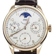 IWC Portuguese Perpetual Calendar Rose gold 44mm Silver United States of America, Illinois, BUFFALO GROVE