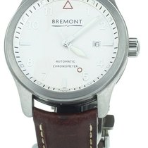 Bremont Steel 43mm Automatic SOLO/WH-SI pre-owned United States of America, Illinois, BUFFALO GROVE