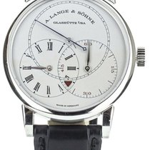 A. Lange & Söhne Richard Lange Platinum 40mm Silver United States of America, Illinois, BUFFALO GROVE