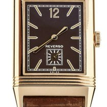 Jaeger-LeCoultre Grande Reverso Ultra Thin 1931 pre-owned 47mm Brown Calf skin