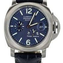 Panerai Luminor Power Reserve Titanio 44mm Azul