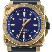 Bell & Ross BR 03 Бронза 42mm Синий