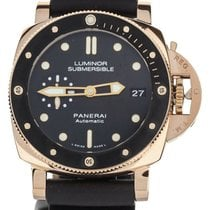 Panerai Luminor Submersible 1950 3 Days Automatic Rose gold 42mm Black United States of America, Illinois, BUFFALO GROVE