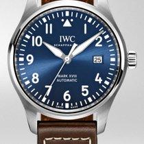 IWC Fliegeruhr Mark Stahl 40mm Blau Arabisch Schweiz, Basel