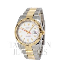 Rolex Datejust Turn-O-Graph Gold/Steel 36mm White United States of America, New York, Hartsdale
