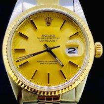 Rolex 16013 Or/Acier 1983 Datejust 36mm occasion