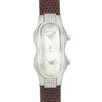 Philip Stein Signature nuevo Cuarzo Reloj con estuche y documentos originales 4DD-F-MOP-CZBR