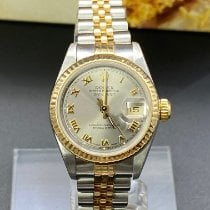Rolex Lady-Datejust Or/Acier 26mm Nacre Sans chiffres France, Paris