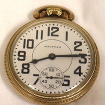 Waltham Gold/Steel 16mm Manual winding pre-owned