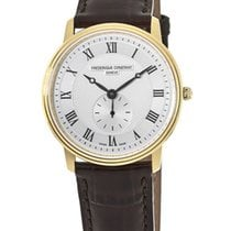 Frederique Constant Slimline Gold/Steel Roman numerals United States of America, New York, Brooklyn