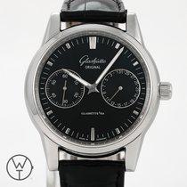 Glashütte Original Senator Hand Date Steel 39,5mm Black No numerals