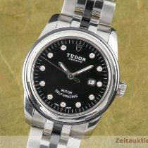 Tudor Glamour Date Acier 31mm Noir