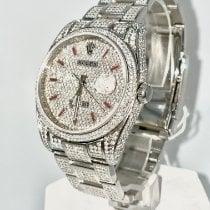 Rolex Datejust Stål 36mm Transparent Ingen tal