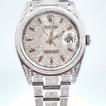 Rolex Datejust Steel 36mm Transparent No numerals