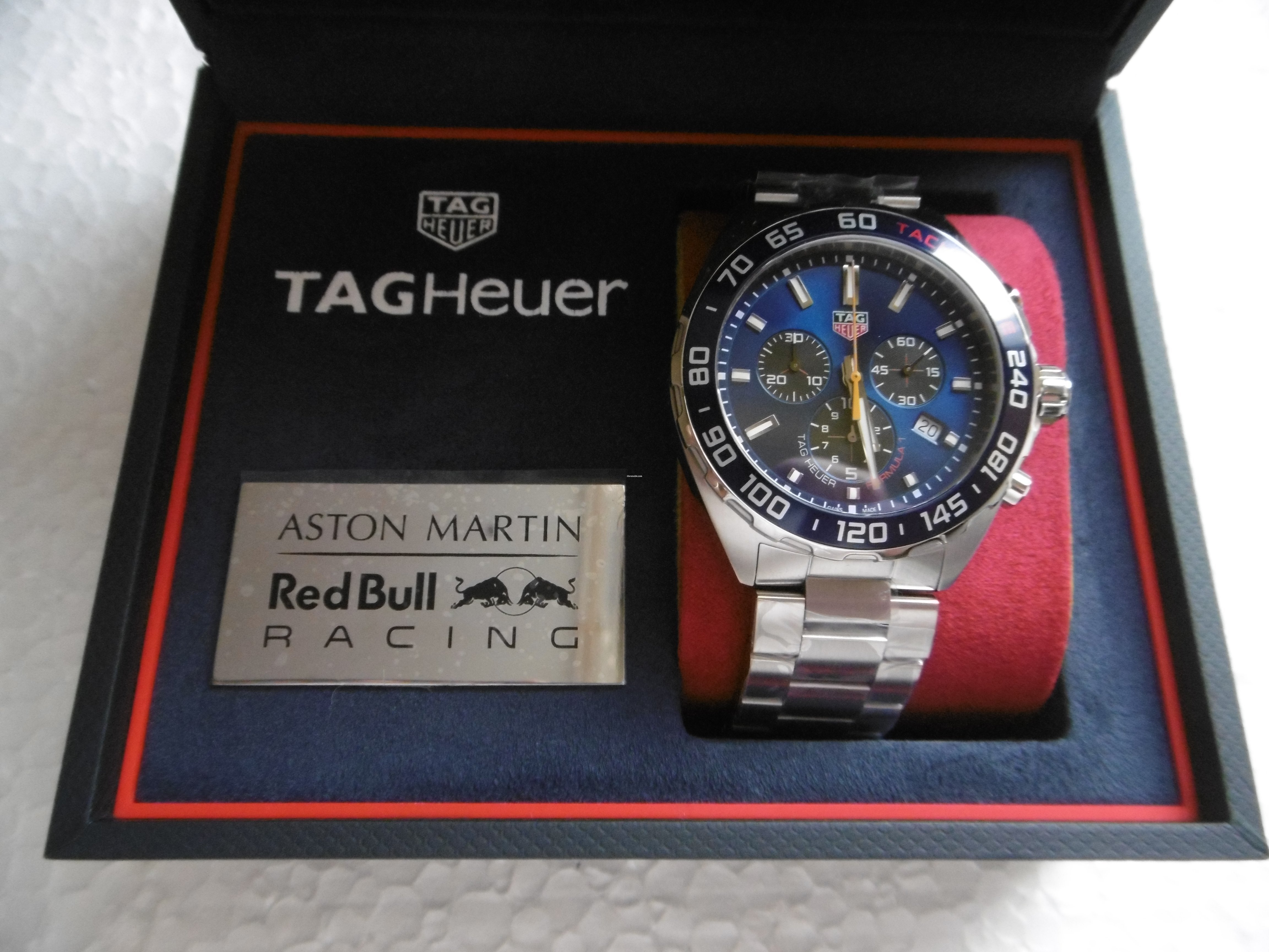 Tag Heuer Formula 1 Aston Martin Red Bull Racing Special For Rm6 434 For Sale From A Trusted Seller On Chrono24