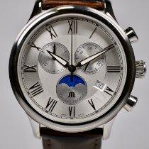 Maurice Lacroix Les Classiques Phases de Lune Steel 40mm Silver Roman numerals