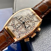 Franck Muller Rose gold 34mm Chronograph 6850 CC MC pre-owned