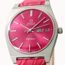 Omega Genève Steel 35mm Pink No numerals United States of America, Utah, Draper