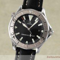Omega Seamaster Diver 300 M Acier 41mm Noir