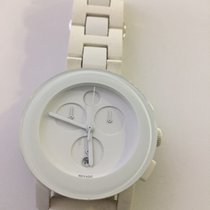 Movado Plastique Quartz Blanc 40mm occasion Bold